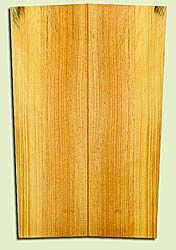 "SPUSB41271 - Sugar Pine, Tenor or Baritone Ukulele Soundboard, Fine Grain Salvaged Old Growth, Very Good Color, Rare Ukulele Wood, 2 panels each 0.17"" x 5.125"" X 16"", S2S"