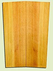 "SPUSB41272 - Sugar Pine, Tenor or Baritone Ukulele Soundboard, Fine Grain Salvaged Old Growth, Very Good Color, Rare Ukulele Wood, 2 panels each 0.17"" x 5 to 5.75"" X 16"", S2S"