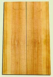 "SPUSB41274 - Sugar Pine, Tenor or Baritone Ukulele Soundboard, Fine Grain Salvaged Old Growth, Very Good Color, Rare Ukulele Wood, 2 panels each 0.17"" x 4.75 to 5.25"" X 16"", S2S"