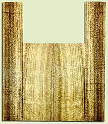 """MYUS41380 - Myrtlewood, Tenor Ukulele Back & Side Set, Med. to Fine Grain, Excellent Color& Curl, GreatUkulele Wood, 2 panels each 0.17"""" x 5.375"""" X 13.875"""", S2S, and 2 panels each 0.17"""" x 3.375"""" X 21"""", S2S"""