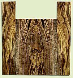 """MYUS41385 - Myrtlewood, Tenor Ukulele Back & Side Set, Med. to Fine Grain, Excellent Color& Curl, GreatUkulele Wood, 2 panels each 0.18"""" x 5.375"""" X 15"""", S2S, and 2 panels each 0.18"""" x 3.5"""" X 19.375"""", S2S"""