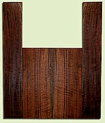 """WAUS41779 - Claro Walnut, Tenor Ukulele Back & Side Set, Salvaged from Commercial Grove, Excellent Color& Curl, Amazing Ukulele Wood, 2 panels each 0.18"""" x 5.5"""" X 13.375"""", S2S, and 2 panels each 0.18"""" x 3.5"""" X 22"""", S2S"""