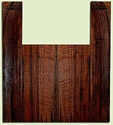 """WAUS41780 - Claro Walnut, Tenor Ukulele Back & Side Set, Salvaged from Commercial Grove, Excellent Color& Curl, Amazing Ukulele Wood, 2 panels each 0.18"""" x 5.5"""" X 14"""", S2S, and 2 panels each 0.18"""" x 3.5"""" X 21.5"""", S2S"""