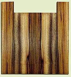 "MYUS41818 - Myrtlewood, Tenor Ukulele Back & Side Set, Med. to Fine Grain, Excellent Color& Curl, Amazing Ukulele Wood, 2 panels each 0.17"" x 5.5"" X 16.25"", S2S, and 2 panels each 0.17"" x 3.25"" X 19.125"", S2S"