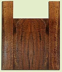 """WAUS42252 - Claro Walnut, Baritone or Tenor Ukulele Back & Side Set, Salvaged from Commercial Grove, Excellent Color& Astounding Figure, Eco-FriendlyUkulele Wood, 2 panels each 0.16"""" x 5.5"""" X 16"""", S2S, and 2 panels each 0.16"""" x 3.5"""" X 21.5"""", S2S"""
