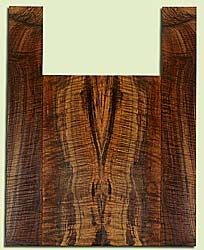 """WAUS42256 - Claro Walnut, Baritone or Tenor Ukulele Back & Side Set, Salvaged from Commercial Grove, Excellent Color& Astounding Figure, Eco-FriendlyUkulele Wood, 2 panels each 0.18"""" x 5.375"""" X 15.625"""", S2S, and 2 panels each 0.18"""" x 3 to 3.75"""" X 23.25"""""""
