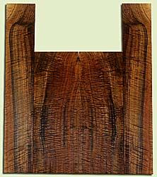 """WAUS42262 - Claro Walnut, Baritone or Tenor Ukulele Back & Side Set, Salvaged from Commercial Grove, Excellent Color& Astounding Figure, Eco-FriendlyUkulele Wood, 2 panels each 0.17"""" x 5.625"""" X 15.25"""", S2S, and 2 panels each 0.18"""" x 3.75"""" X 21.5"""", S2S"""