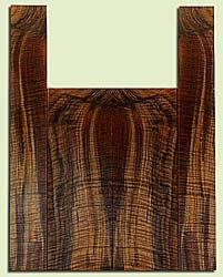 """WAUS42263 - Claro Walnut, Baritone or Tenor Ukulele Back & Side Set, Salvaged from Commercial Grove, Excellent Color& Astounding Figure, Eco-FriendlyUkulele Wood, 2 panels each 0.18"""" x 5.625"""" X 16"""", S2S, and 2 panels each 0.18"""" x 3.75"""" X 23.25"""", S2S"""
