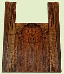 """WAUS42270 - Claro Walnut, Baritone or Tenor Ukulele Back & Side Set, Salvaged from Commercial Grove, Excellent Color& Astounding Figure, Eco-FriendlyUkulele Wood, 2 panels each 0.18"""" x 5.25 to 6"""" X 16"""", S2S, and 2 panels each 0.18"""" x 3.625"""" X 23"""", S2S"""