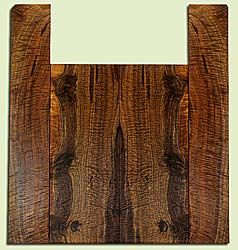 """WAUS42272 - Claro Walnut, Tenor Ukulele Back & Side Set, Salvaged from Commercial Grove, Excellent Color& Astounding Figure, Eco-FriendlyUkulele Wood, 2 panels each 0.17"""" x 5.625"""" X 14.625"""", S2S, and 2 panels each 0.16"""" x 3.25"""" X 19.5"""", S2S"""