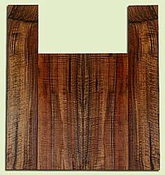 """WAUS42274 - Claro Walnut, Tenor Ukulele Back & Side Set, Salvaged from Commercial Grove, Excellent Color& Astounding Figure, Eco-FriendlyUkulele Wood, 2 panels each 0.18"""" x 5.25"""" X 13.75"""", S2S, and 2 panels each 0.17"""" x 3.5"""" X 19.5"""", S2S"""