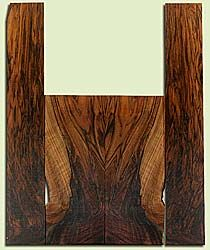 """WAUS42277 - Claro Walnut, Tenor Ukulele Back & Side Set, Salvaged from Commercial Grove, Excellent Color& Astounding Figure, Eco-FriendlyUkulele Wood, 2 panels each 0.16"""" x 5.25"""" X 13.125"""", S2S, and 2 panels each 0.16"""" x 3.375"""" X 21.25"""", S2S"""