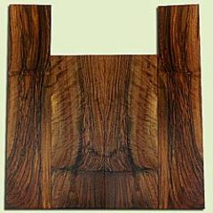 """WAUS42278 - Claro Walnut, Tenor Ukulele Back & Side Set, Salvaged from Commercial Grove, Excellent Color& Astounding Figure, Eco-FriendlyUkulele Wood, 2 panels each 0.16"""" x 4.875"""" X 14.125"""", S2S, and 2 panels each 0.16"""" x 4.25"""" X 18.75"""", S2S"""