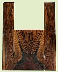 """WAUS42279 - Claro Walnut, Tenor Ukulele Back & Side Set, Salvaged from Commercial Grove, Excellent Color& Astounding Figure, Eco-FriendlyUkulele Wood, 2 panels each 0.17"""" x 4.75"""" X 12.75"""", S2S, and 2 panels each 0.16"""" x 3.5"""" X 21.375"""", S2S"""