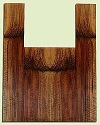 """WAUS42284 - Claro Walnut, Tenor Ukulele Back & Side Set, Salvaged from Commercial Grove, Excellent Color& Astounding Figure, Eco-FriendlyUkulele Wood, 2 panels each 0.17"""" x 4.875"""" X 14.375"""", S2S, and 2 panels each 0.17"""" x 4"""" X 22.875"""", S2S"""