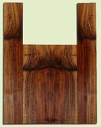 """WAUS42285 - Claro Walnut, Tenor Ukulele Back & Side Set, Salvaged from Commercial Grove, Excellent Color& Astounding Figure, Eco-FriendlyUkulele Wood, 2 panels each 0.18"""" x 4.875"""" X 14.375"""", S2S, and 2 panels each 0.17"""" x 3.5"""" X 22"""", S2S"""