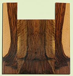 """WAUS42286 - Claro Walnut, Tenor Ukulele Back & Side Set, Salvaged from Commercial Grove, Excellent Color& Astounding Figure, Eco-FriendlyUkulele Wood, 2 panels each 0.16"""" x 4.875"""" X 14.125"""", S2S, and 2 panels each 0.15"""" x 3.875"""" X 18.625"""", S2S"""