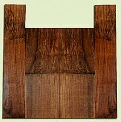"""WAUS42289 - Claro Walnut, Tenor Ukulele Back & Side Set, Salvaged from Commercial Grove, Excellent Color& Astounding Figure, Eco-FriendlyUkulele Wood, 2 panels each 0.18"""" x 5.75"""" X 15.125"""", S2S, and 2 panels each 0.16"""" x 3.875"""" X 19"""", S2S"""