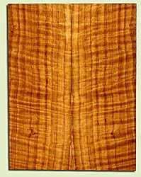 "CDUSB43409 - Port Orford Cedar, Tenor Ukulele Soundboard, Med. to Fine Grain Salvaged Old Growth, Excellent Color & Curl, Great Ukulele Wood, Note: There are bark inclusions in this set., 2 panels each 0.17"" x 5.625"" X 14.875"", S2S"