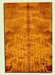 "CDUSB43431 - Port Orford Cedar, Soprano Ukulele Soundboard, Med. to Fine Grain Salvaged Old Growth, Excellent Color & Curl, Great Ukulele Wood, 2 panels each 0.17"" x 4.5"" X 12.625"", S2S"