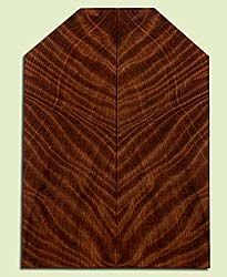 """RWUSB43493 - Redwood, Baritone or Tenor Ukulele Soundboard, Med. to Fine Grain Salvaged Old Growth, Excellent Color& Curl, GreatUkulele Wood, 2 panels each 0.17"""" x 2 to 5.25"""" X 14.625"""", S2S"""
