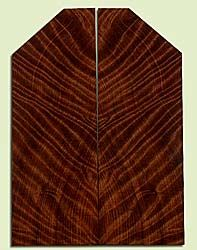 """RWUSB43496 - Redwood, Baritone or Tenor Ukulele Soundboard, Med. to Fine Grain Salvaged Old Growth, Excellent Color& Curl, GreatUkulele Wood, 2 panels each 0.17"""" x 2 to 5.25"""" X 14.625"""", S2S"""