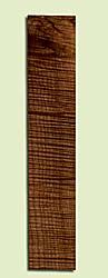"""MAUFB44162 - Big Leaf Maple, Ukulele Fingerboard, Med. to Fine Grain, Excellent Color& Curl, Stabilized with colorless, nontoxic, resin, Great Ukulele Wood, 1 piece each 0.25"""" x 2.75"""" X 14.125"""", S2S"""